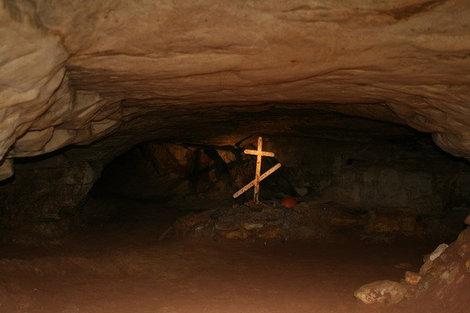 могила белого спелеолога