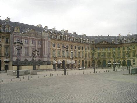 Исторические здания Вандомской площади