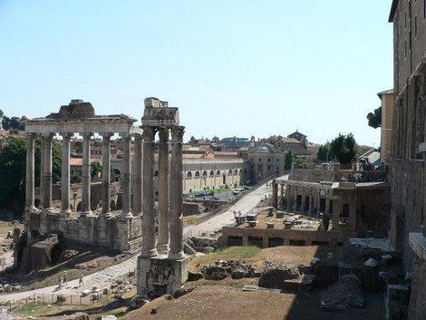 Развалины древнего города.