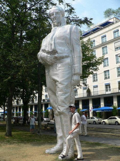 Памятник в Мюнхене.