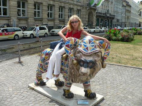 Мюнхен — город львов и пива.