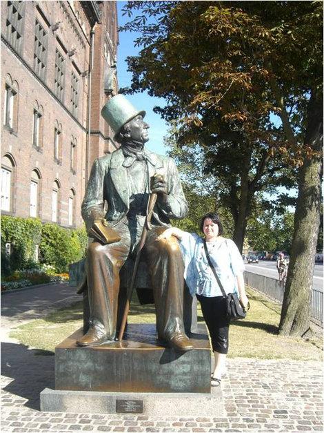 Памятник Г.Х. Андерсену