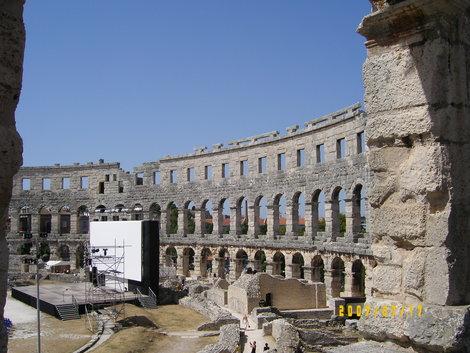римские развалины