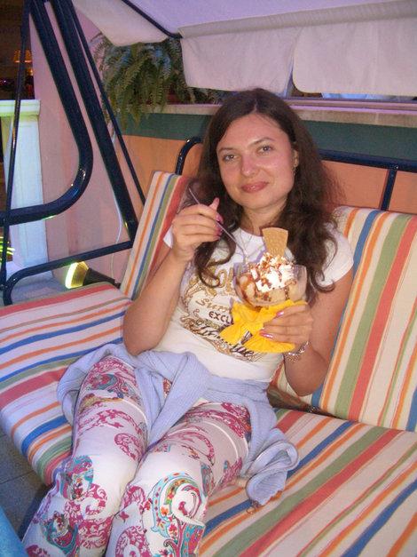 Вкусное итальянское мороженое