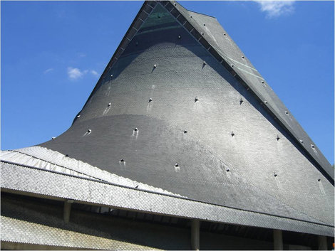 Крыша церкви