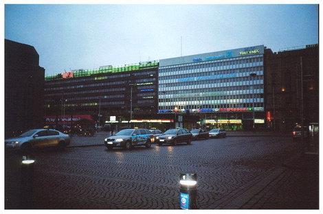 Хельсинки. Столица Финляндии в стиле модерн