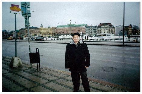 Стокгольм. Вид на город с набережной возле Королевского дворца