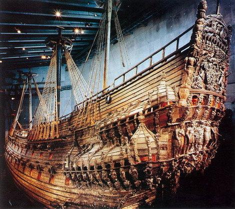 Стокгольм. Королевский корабль