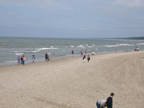 Балтийское море — красивое, но не знойное.