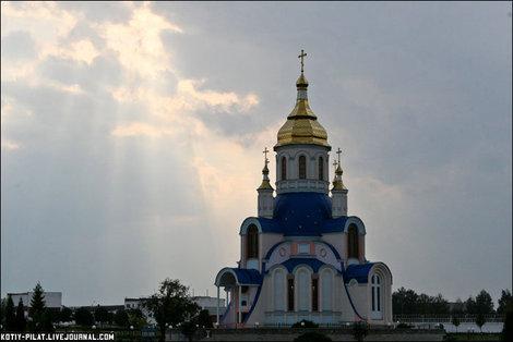 Церковь на территории Сумского университета