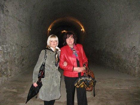 Подземелья дубенской крепости