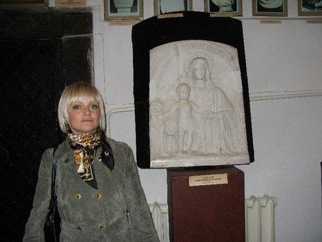 Барельеф работы Сосновского в Острожском музее