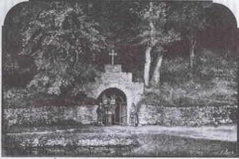 Николавская каплычка на старом фото