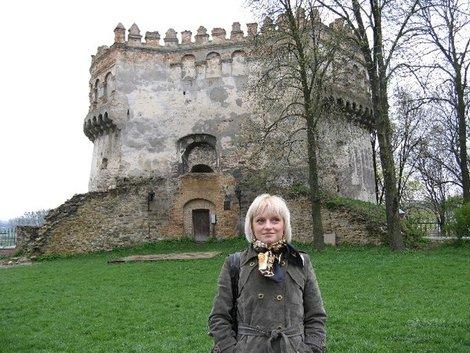 Круглая башня острожской крепости