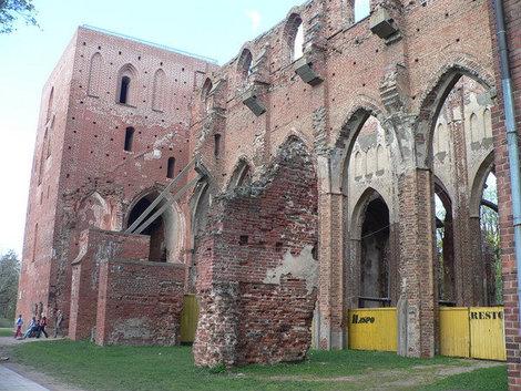 Руины Думского собора.