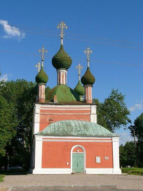42. Переславль-Залесский. Церковь Александра Невского 1740 год