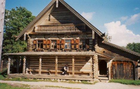 Старинная изба, Витославлицы.