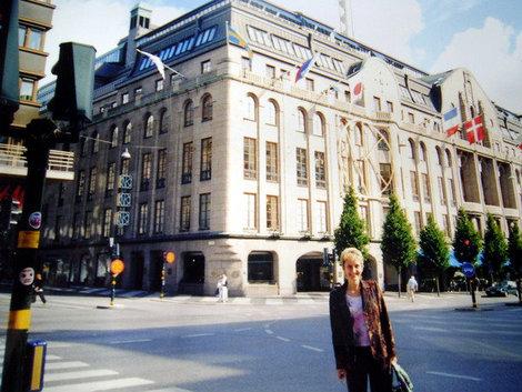 В крупнейшем в Швеции универмаге