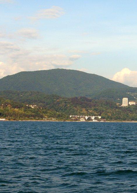 Ахун. Вид с моря