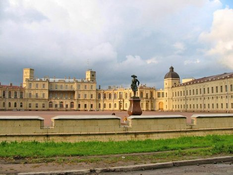 Большой Гатчинский дворец.