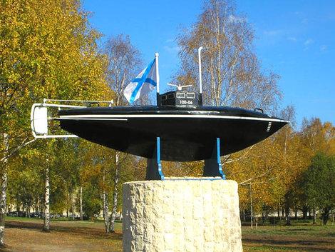 Памятник  подлодке С.К. Джевецкого.