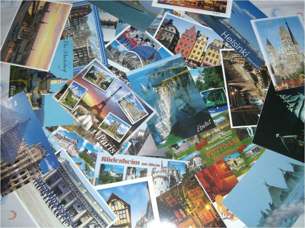 Цена открытки в европу
