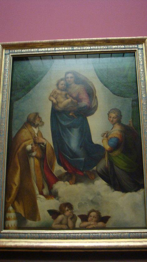 Рафаэль. Мадонна папы Сикста
