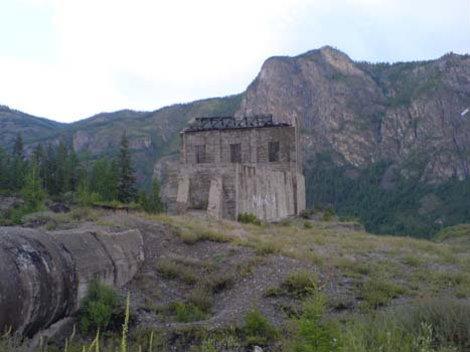 Недостроенная Чуйский ГЭС