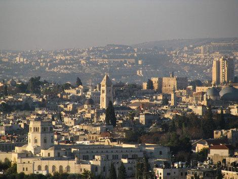 Иерусалим со смотровой площадки