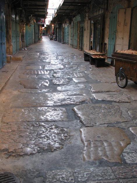 ПУстынные субботние улицы