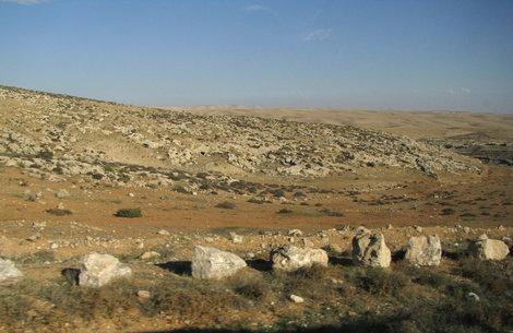 Путь к Мертвому морю: дорога через пустыню