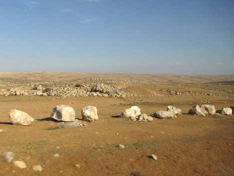 Путь к Мертвому морю: пустыня