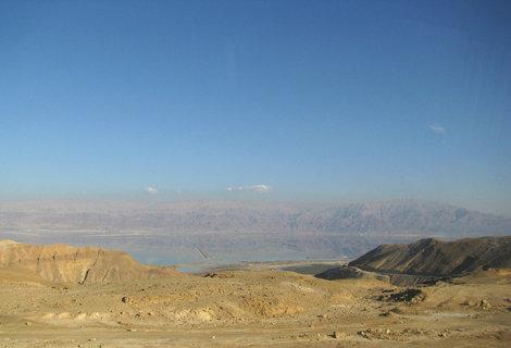 Путь к Мертвому морю: а вот и оно