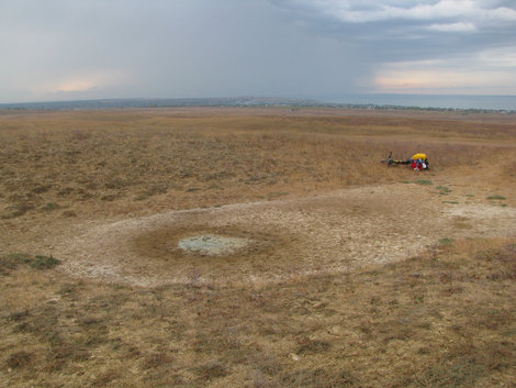 Карабетова гора: кратер
