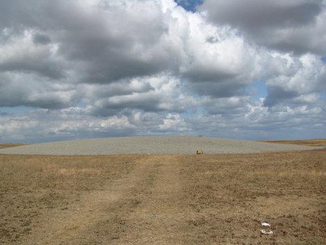 Карабетова гора: основной кратер