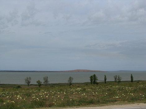 Бахча, Ахтанизовский лиман и Цимбалы на горизонте