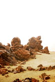 вулканические породы, мёртвая земля, ощущение неземного пейзажа