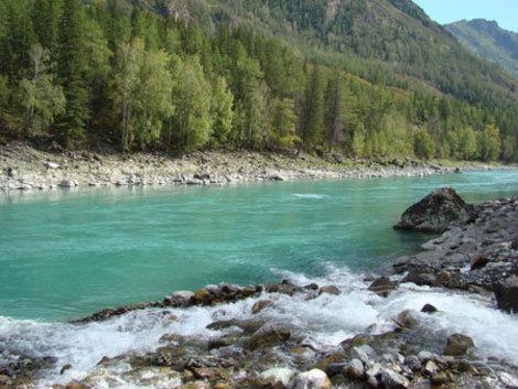 Приток Катуни — река Казнахта.