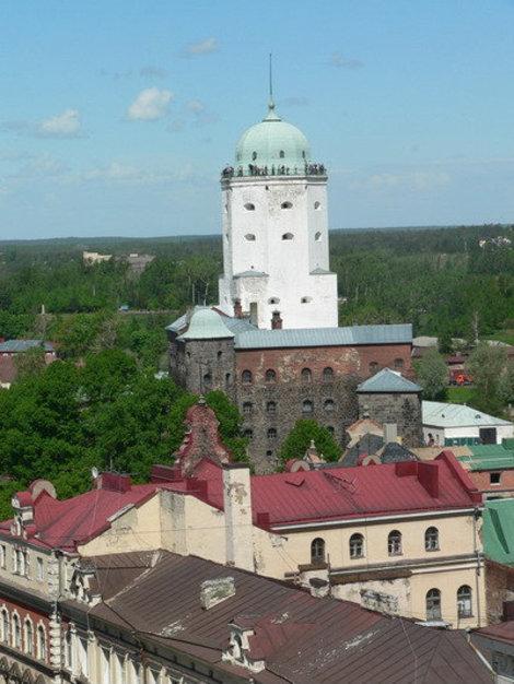 Вид с Часовой башни.