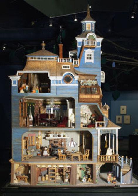 Дом Муми троллей. Фото с сайта музея