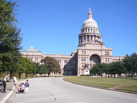 Вот он , Капитолий — Белый дом штата Техас!