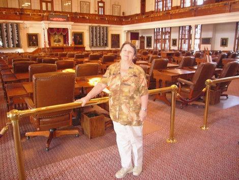 Зал заседаний сената — одной из палат парламента штата Техас.