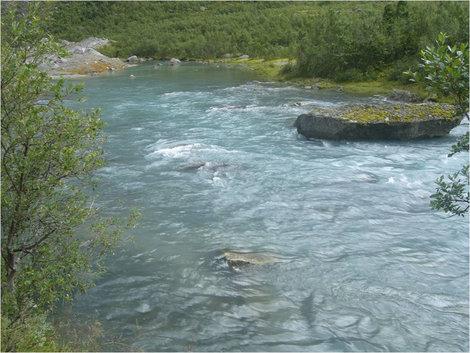 Голубая речка...