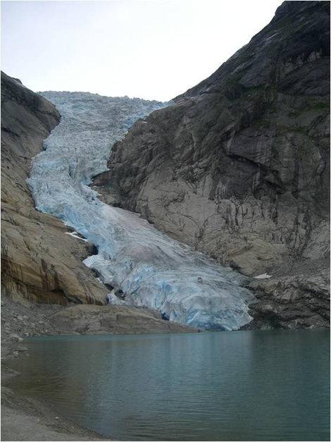 Вид на ледник Бриксдайл