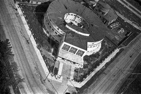 Круглые бани вид сверху. фото из инета.
