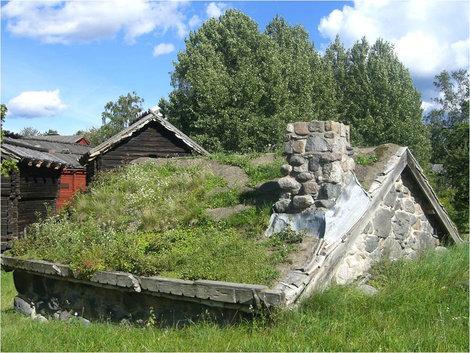 Очень старинное жилище