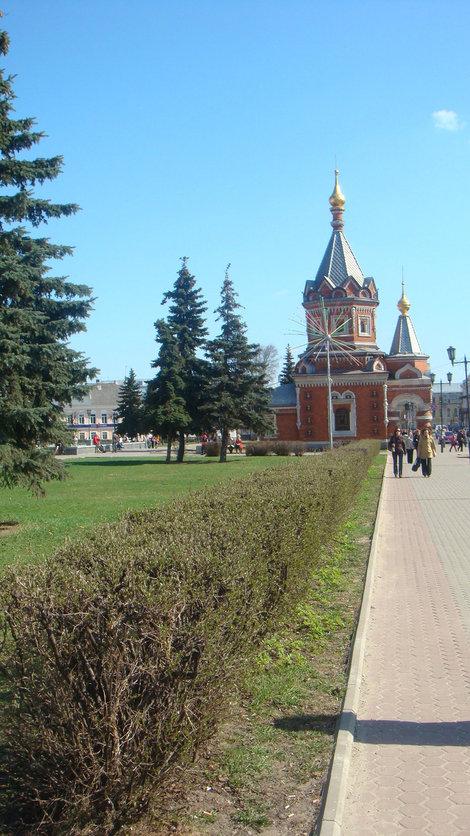 Часовня Александра Невского на улице Андропова