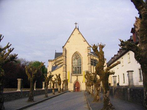 Церковь в аббатстве. Ранняя готика
