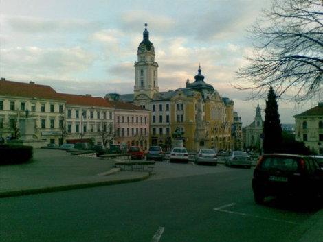 Szechenyi ter — главная площадь города