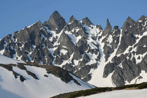 Вершины Главная и Палец